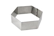 "Форма для торта ""Шестиугольник"", 175х200 h50 мм"