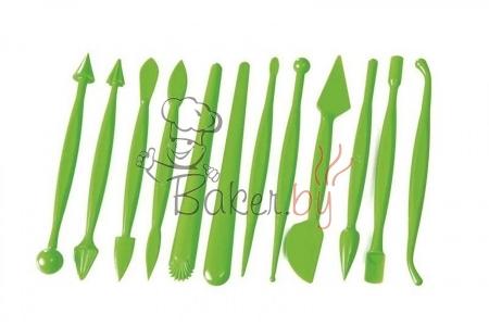 Набор для мастики/марципана, 12 предметов
