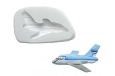 """Форма Sugarflex """"Самолет"""" 50х20 мм, силикон"""