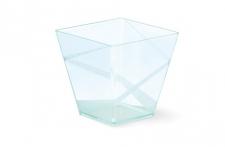 """Стаканчик для десерта """"Пирамидка"""" 200мл, прозрачный, 40шт/уп."""