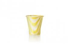 """Стаканчик для напитков и коктейлей """"Дринк Микс"""" 150мл, желтый, 50шт/уп."""