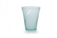 """Стаканчик для напитков и коктейлей """"Луп"""" 350мл, бирюзовый, 25шт/уп."""