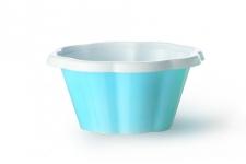 """Стаканчик для мороженого и десертов """"Коппа Джой"""" 100мл, голубой, 100шт/уп."""