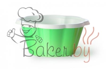 """Стаканчик для мороженого и десертов """"Коппа Джой"""" 130мл, зеленый, 100шт/уп."""