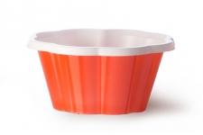 """Стаканчик для мороженого и десертов """"Коппа Джой"""" 170мл, красный, 100шт/уп."""