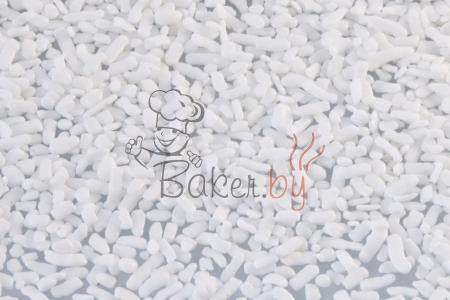 Декоративное драже Цукерструзел белый, 1 кг