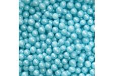Декоративное сахарное драже Жемчужины перламутровые голубые, 1 кг