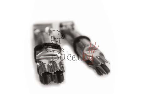 Пинцет для защипывания краёв, 2 шт (арт. 001 ОА D)