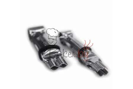 Пинцет для защипывания краёв, 2 шт (арт. 001 ОА L)