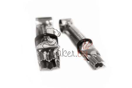 Пинцет для защипывания краёв, 2 шт (арт. 002 OC L)