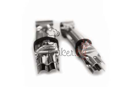 Пинцет для защипывания краёв, 2 шт (арт. 002 OC D)