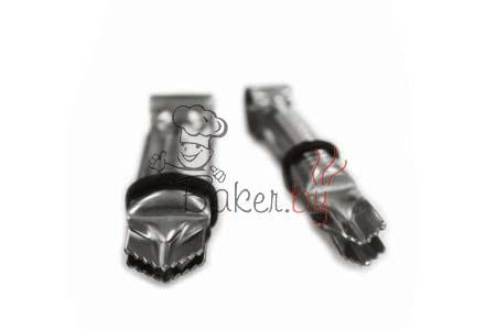 Пинцет для защипывания краёв, 2 шт (арт. 004 VC D)