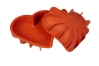 "Форма силиконовая ""Сердце фигурное"", 205х186хh54 мм"