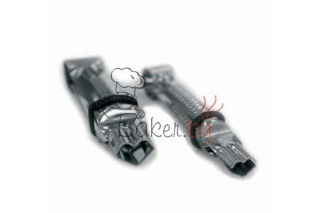 Пинцет для защипывания краёв, 2 шт (арт. 008 CU L)