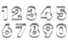 """Набор вырубок для теста """"Цифры"""", 9 шт"""