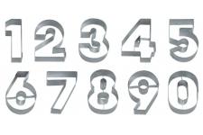 """Набор вырубок для теста """"Цифры"""", 10 шт"""