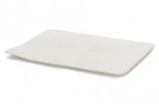 """Поднос прямоугольный белый """"Стоун"""" 30х14см (10 шт/упак.), пластик"""
