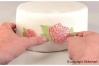 """Коврик для ажурного декора """"Розы"""", 80х400 мм"""