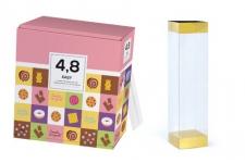 Лента прозрачная Easy Pack для упаковки, 4,8х4,8 см (бобина 15 м)