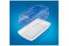 Упаковка для тортов и десертов прямоугольная (основание 230х120 мм), пластик