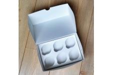 Коробка для капкейков (на 6 шт), 250х170х h100 мм