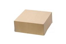 Коробка для торта, 255х255х h105 мм