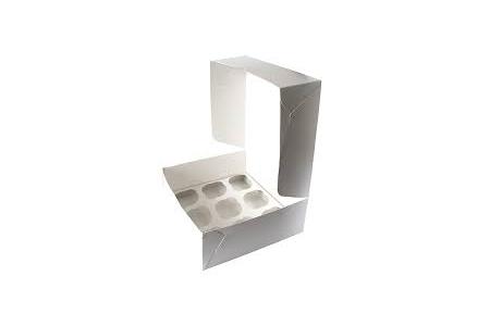 Коробка для капкейков (на 9 шт), 250х250х h100 мм