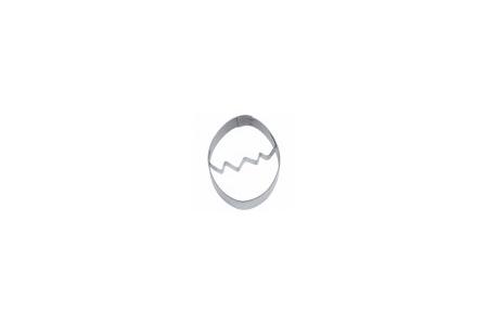 """Вырубка """"Яйцо со скорлупой"""", Ø55 мм"""