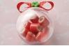 Шар для упаковки подарков Ø12 см, пластик