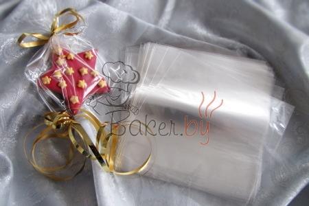 Пакет для пряников/печенья 150х150 мм, 100шт/уп.