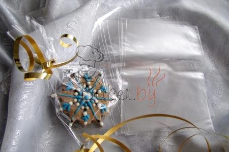 Пакет для пряников/печенья 100х150 мм, 10 шт