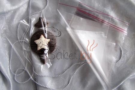 Пакет для пряников/печенья с клейкой лентой 150х150 мм, 10 шт