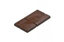 """Форма для конфет """"Плитка"""" МА1807, 3 ячейки (154х74 h10 мм)"""