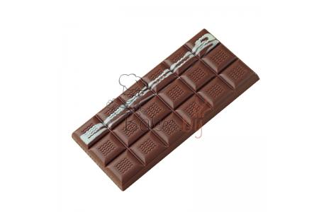 """Форма для конфет """"Плитка"""" МА2000, 3 ячейки (150х70 h11 мм)"""