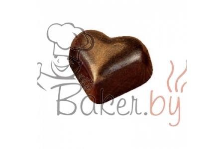 """Форма для конфет """"Сердце"""" МА1526, 35 ячеек (34,7х22 h16 мм)"""