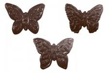 """Форма для шоколадных украшений """"Бабочки большие"""""""