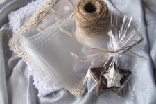 Пакет для пряников/печенья с рубашечным швом 120х200 мм, 100шт/уп.