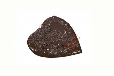 """Форма для шоколадных украшений """"Большая валентинка"""""""