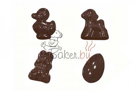 """Форма для шоколадных украшений """"Детский набор"""""""