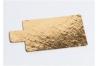 Подложка для пирожных с держателем, 90х55 мм (толщина 0,8мм), золото, из фольгированного картона