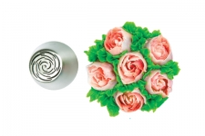 """Наконечник """"Роза 31, тонкие лепестки"""", Ø25 мм"""