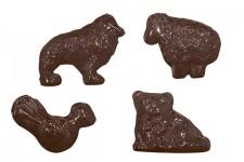 """Форма для шоколадных украшений """"Животные"""""""