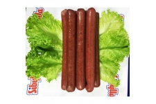 """Сосиски куриные вареные первого сорта """"Карри"""" (Sibylla), 0,8 кг. (10шт/уп)."""