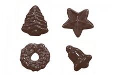 """Форма для шоколадных украшений """"Игрушки"""""""