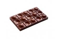 """Форма для конфет """"Плитка """"Прикосновение"""" МА2008, 3 ячейки (117х71 h13 мм)"""