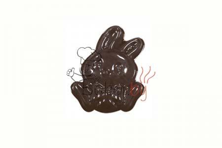 """Форма для шоколадных украшений """"Кролик Банни"""""""