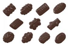 """Форма для шоколадных украшений """"Лесное ассорти"""""""