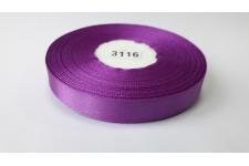 темно-фиолетовая атласная лента