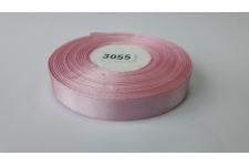 Лента атласная (розовая), 12мм, намотка 32,9м