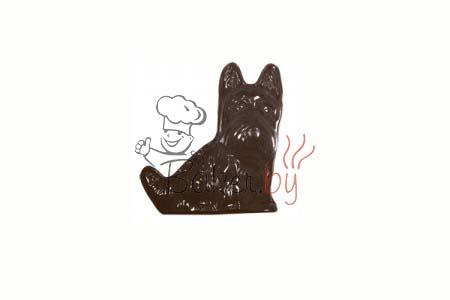 """Форма для шоколадных украшений """"Лохматая собачка"""""""